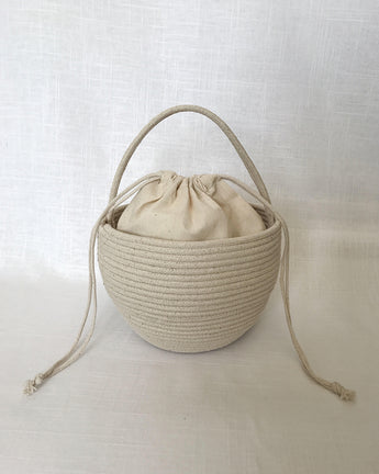 Gia Basket Bag