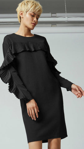 Warehouse Frill Sweat Dress