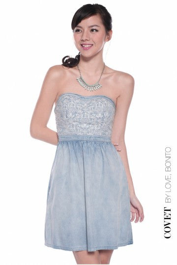 Love, Bonito Covet Danniora Denim Dress