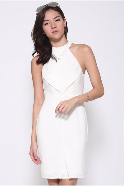 Love, Bonito Kysa Halter Dress White S