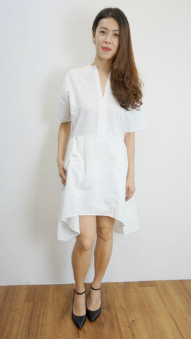 AL ET CLAR Drop Waist Shirt Dress