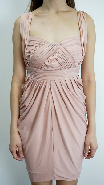 Dusty Pink Bodycon dress