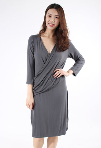 Sandwich_ Grey dress