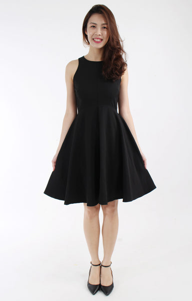 Dress with flare