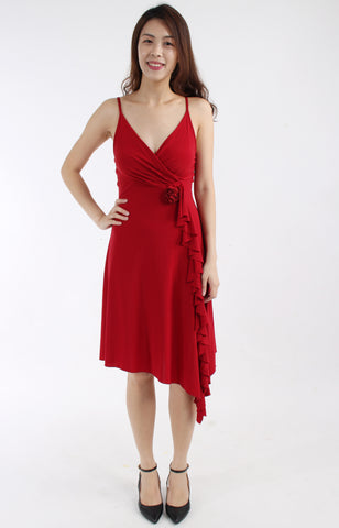 Salsa red dress