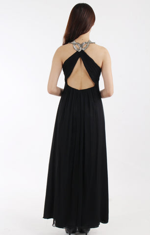 Anne. F Embellished cross back dress