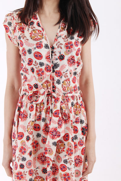 Topshop Printed Dress