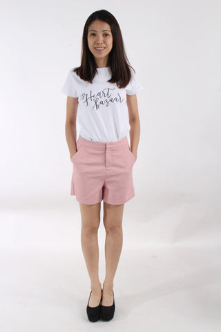 Swan by VGY Blush shorts