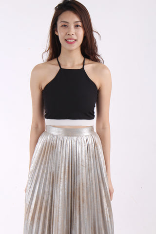 VainGloriousYou Elosie crop top Black