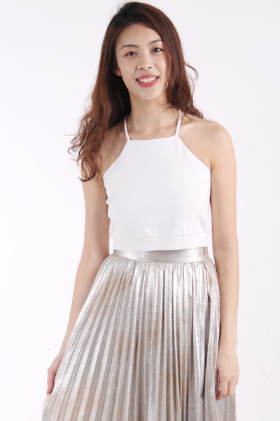 VainGloriousYou Elosie crop top White