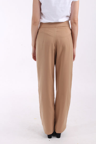 Swan by VGY Toffee Tailored Pants