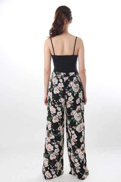 New Look floral print pants