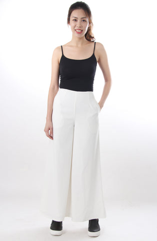 Love, Bonito Wide leg pants white