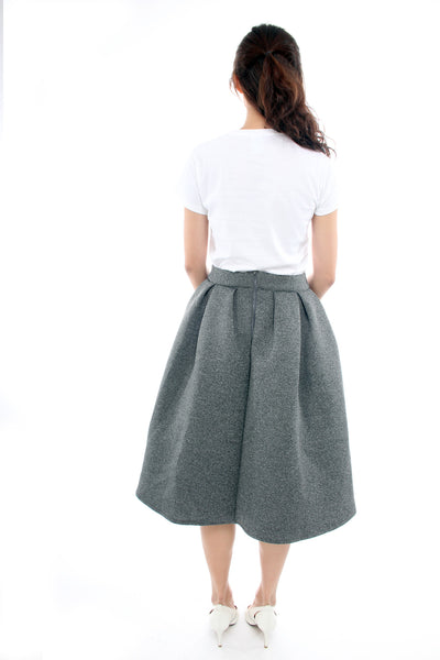 The Tinsel Rack Grey full skirt