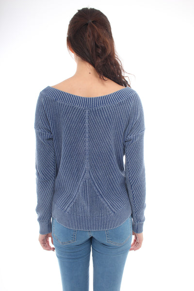 Aerie Navy pullover