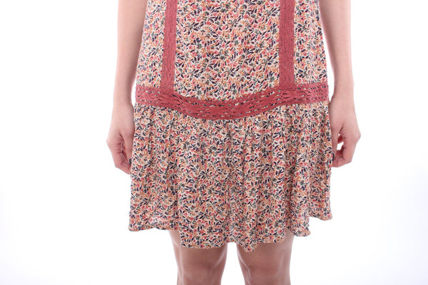 American Eagle Outfitters floral slip dress XXS