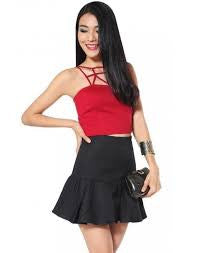 Love, Bonito Shareen skirt Black XS