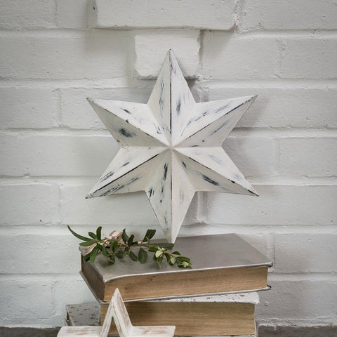 DISTRESSED METAL STAR