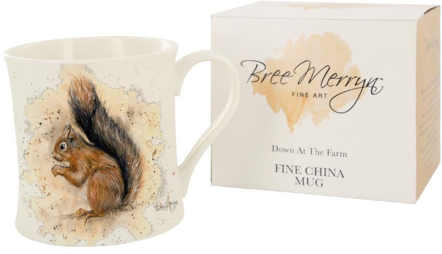 SUNNY THE RED SQUIRREL MUG