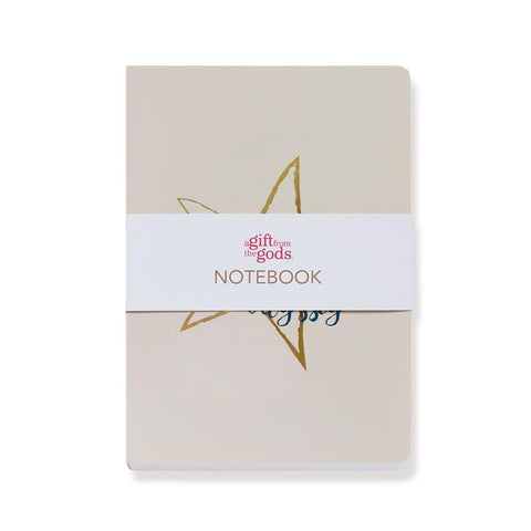 A GIFT FROM THE GODS DREAM ODYSSEY STAR BEIGE A5 NOTEBOOK