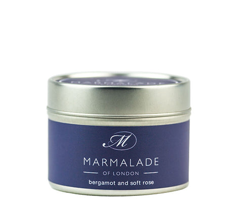 MARMALADE TIN CANDLE BERGAMOT AND SOFT ROSE