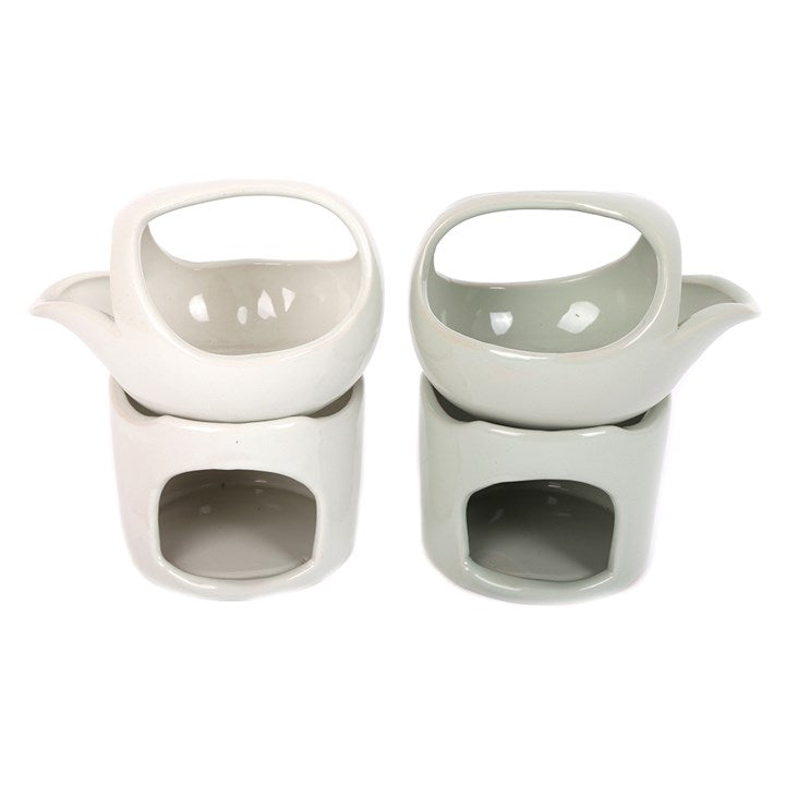 SPOUTED CERAMIC OIL BURNER