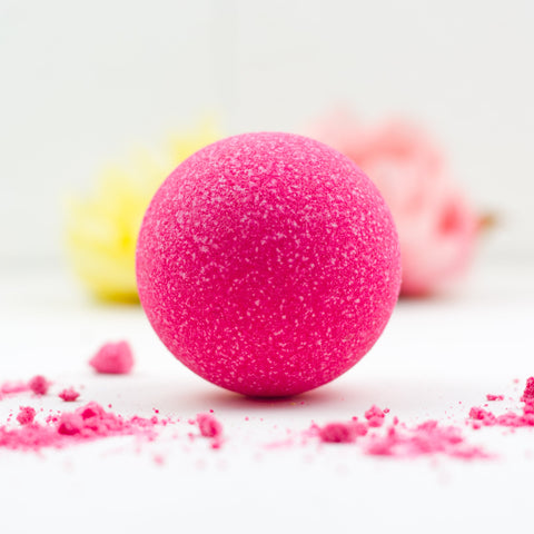 GRAPE SODA BATH BOMB BY SOAP AND SOUL
