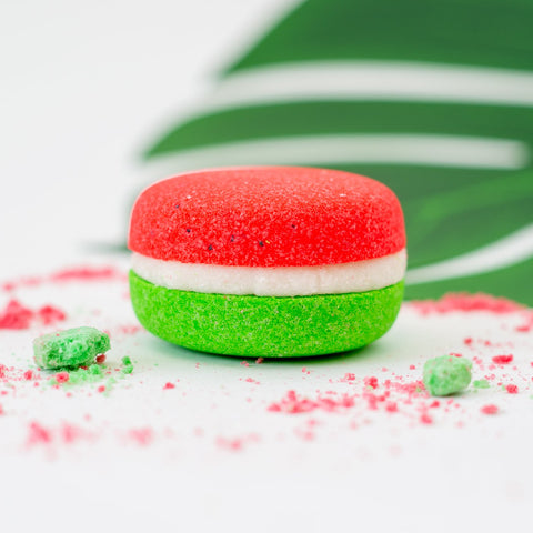 JUICY WATERMELON BATH MACARON BY SOAP AND SOUL