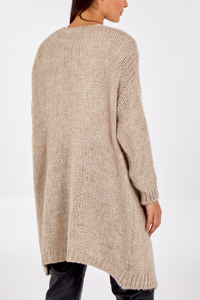 STONE EDGE TO EDGE MIDI CARDIGAN