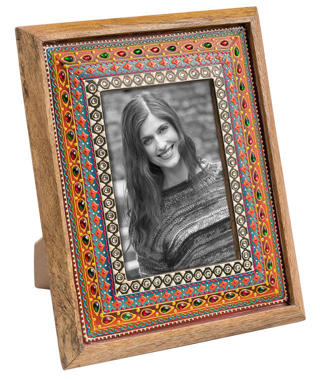 HAND PAINTED PHOTOFRAME