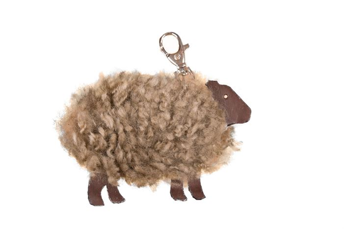 OWEN BARRY SHEEPSHIN KEYRING