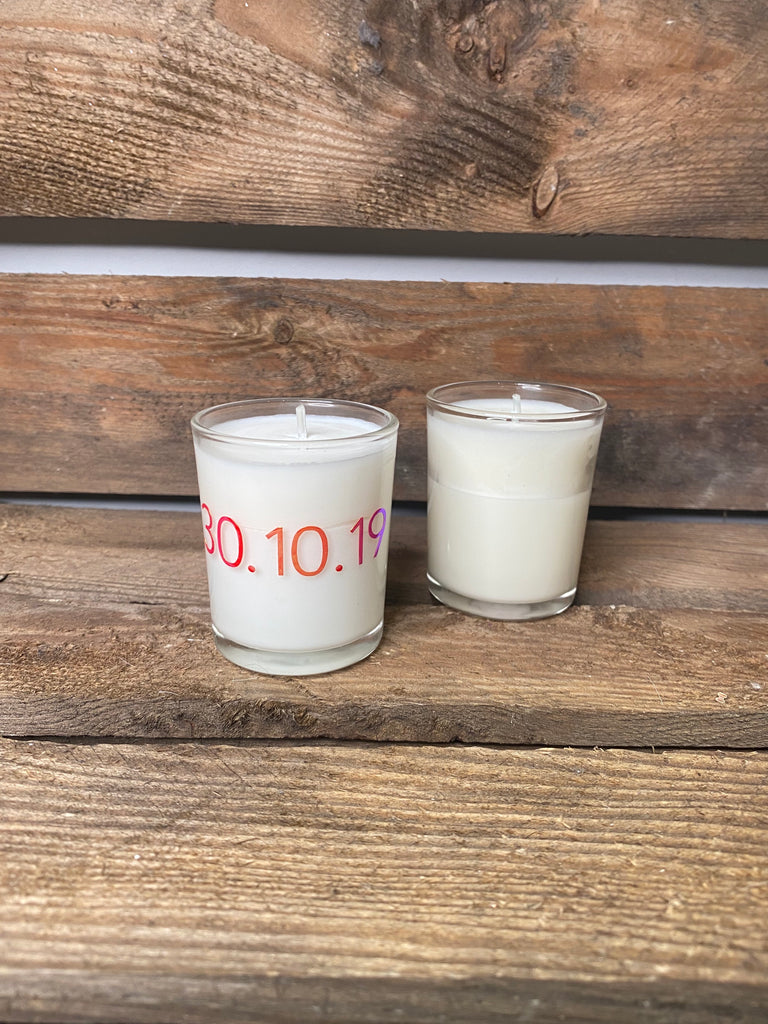 SMALL SCENTED PERSONALISED CANDLE