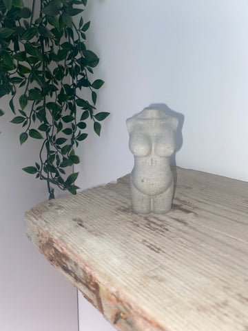 WOMANS PREGNANT TORSO ORNAMENT