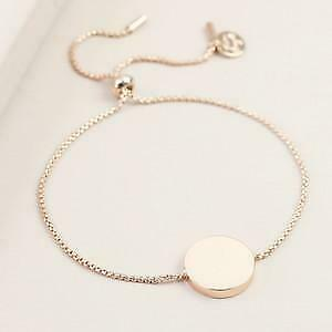 BOX CHAIN AND DISC BRACELET