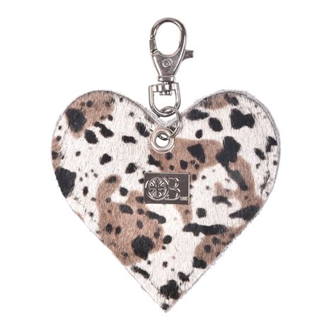 OWEN BARRY HEART KEYRING