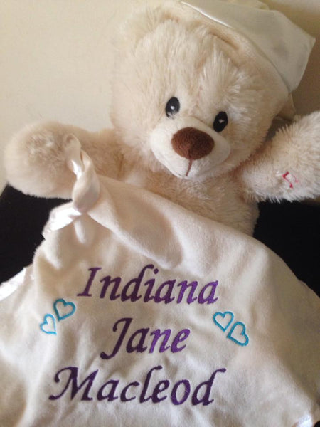 Personalised Baby Light up & Melody Teddy Bear