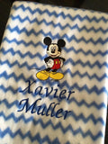 Personalised Character Baby Polar Fleece Blanket