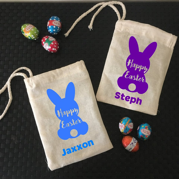 Easter jjs personalised gifts personalised easter bunny mini treat bags negle Image collections