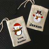 Personalised Christmas Mini Treat Bags