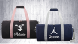 Personalised Duffle/Sports Bag With Design - 2 Colours