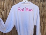 Personalised Embroidered Bath Robe/Gown