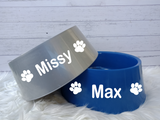 Personalised Dog Pet Bowls - Large -25cm