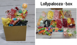 Personalised Lolly & Chocolate Gift Hamper Boxes