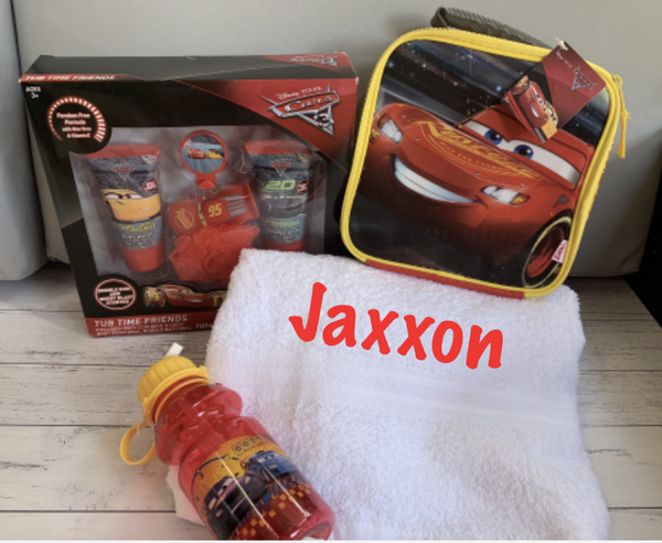 Personalised Disney Cars Lightning Gift Bundle #1