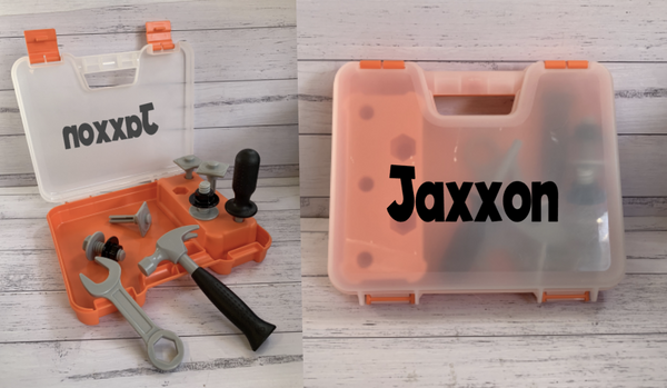 Personalised Childs Tool Kit Toy