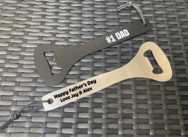 Personalised #1 DAD Bottle Opener