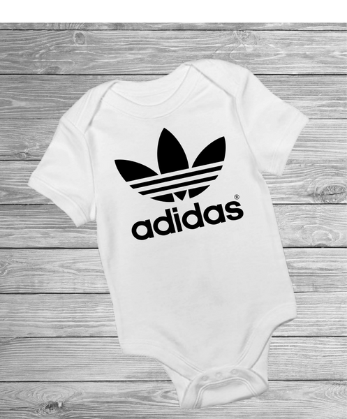 Adidas Inspired Logo - Pre Designed Onesies – JJ s Personalised Gifts 2e0b6ad5f
