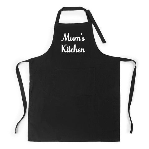 Personalised Full adjustable Aprons - Black