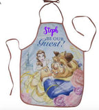 Personalised Disney Beauty & The Beast Childs Apron