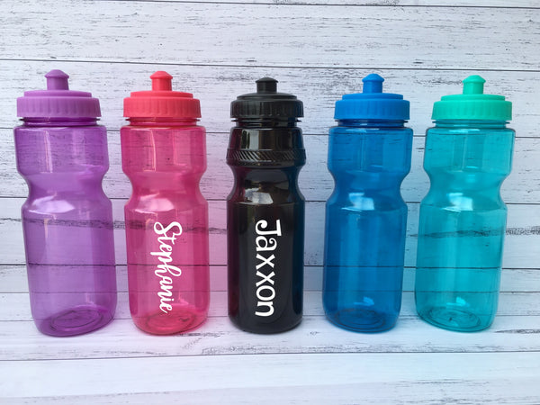 Personalised Drink Bottles - Pop Top style